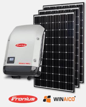 SunPeople premium solar package Fronius Winaico