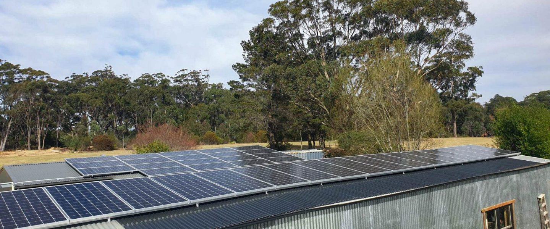 SunPeople Solar Commercial 27kW Installation Sylvan Glen
